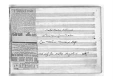 Stabat Mater: partitura completa by Giovanni Battista Pergolesi