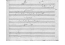 String Quintet in B Flat Major, Op.99: violino parte II by Giuseppe Mascia