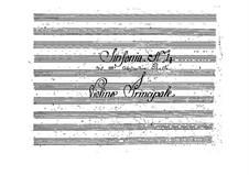 Symphony in D Major, BI 534: Sinfonia em D maior by Alessandro Rolla