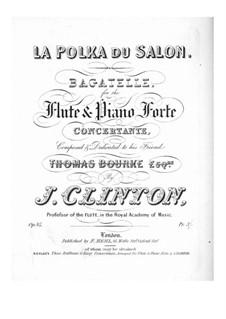 La polka du salon (Salon Polka) for Flute and Piano, Op.85: La polka du salon (Salon Polka) for Flute and Piano by John Clinton
