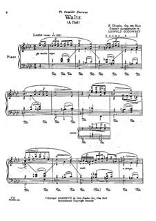 Waltzes, Op. posth.69: No 1 em A flat maior by Frédéric Chopin