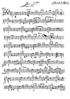 Mazurka (after F. Chopin) for Two Guitars: Mazurka (after F. Chopin) for Two Guitars by Johann Kaspar Mertz