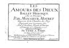 Les amours des dieux: Les amours des dieux by Jean-Joseph Mouret
