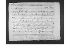 Concerto for Viola and Orchestra: parte de oboes by Gaetano Donizetti