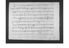 Concerto for Viola and Orchestra: parte trompeta by Gaetano Donizetti