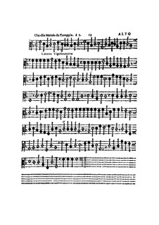 Canzon Vigesimaterza, à 5, for All Kinds of Instrument: parte alto by Claudio Merulo