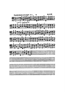 Canzon Vigesimaterza, à 5, for All Kinds of Instrument: Basso part by Claudio Merulo