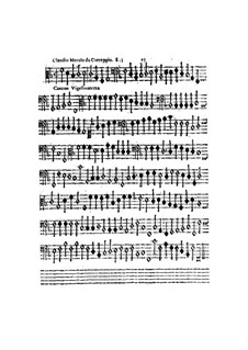 Canzon Vigesimaterza, à 5, for All Kinds of Instrument: parte basso continuo by Claudio Merulo