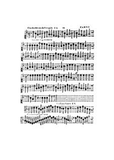 Canzon Vigesimaterza, à 5, for All Kinds of Instrument: Cant part by Claudio Merulo