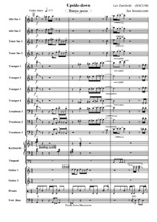 Upside Down: partitura completa by Lev Zemlinski
