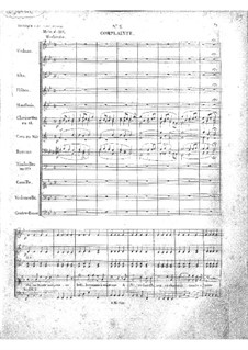 Zampa, ou La fiancée de marbre (Zampa, or the Marble Bride): Act I, No.2-4 by Ferdinand Herold