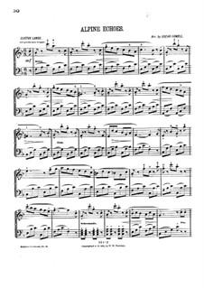 Alpine Echoes: Alpine Echoes by Gustav Lange