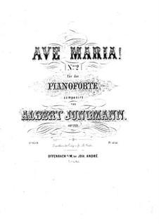Ave Maria, Op.222: Ave Maria by Albert Jungmann