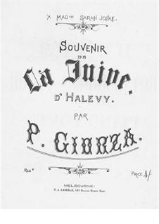 Souvenir de 'La Juive' by Halevy: Souvenir de 'La Juive' by Halevy by Paolo Giorza
