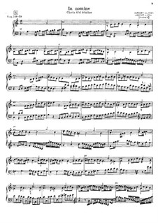 Pieces for Keyboard: No.6-10 by Thomas Tomkins