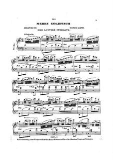 Der Lustige Stieglitz (The Merry Goldfinch): Der Lustige Stieglitz (The Merry Goldfinch) by Gustav Lange