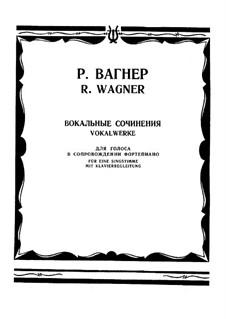 Vocal Works: trabalho de vocais by Richard Wagner