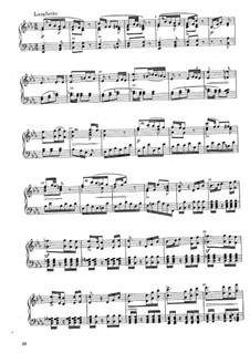 Sonata for Piano in B Flat Major, WWV 21: movimento II by Richard Wagner