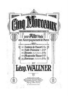 Lullaby: canção de ninar by Leopold Wallner