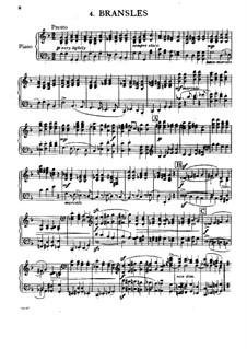Capriol Suite: No.4 Bransles by Peter Warlock