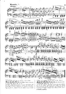 Sonata for Piano No.1 in C Major, J.138 Op.24: movimento III by Carl Maria von Weber