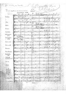 Zampa, ou La fiancée de marbre (Zampa, or the Marble Bride): Act I, No.5 by Ferdinand Herold