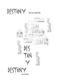 Destiny: partitura completa by Sonja Grossner