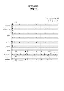 Ellipsis, Op.20: Ellipsis by Nino Janjgava