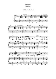 Thirteen Songs: Thirteen Songs  by Charles Gounod