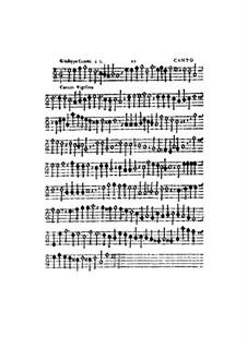 Canzon Decimanona: Canto part by Gioseffo Guami