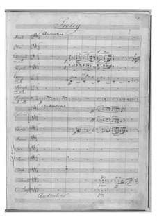 Elverskud (Elf-King's Daughter), Op.30: partitura completa by Niels Wilhelm Gade