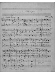 Christie Cantata, EG 158: Christie Cantata by Edvard Grieg