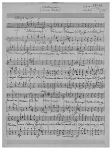 Jædervise (Wind from West), EG 174: Jædervise (Wind from West) by Edvard Grieg