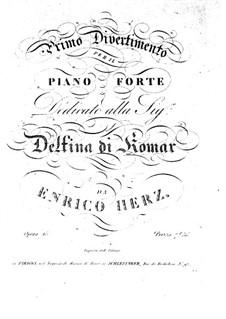 Divertimento No.1, Op.15: Divertimento No.1 by Henri Herz