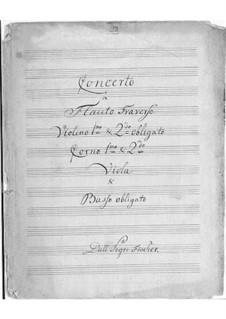Concerto for Flute and Orchestra  in C Major: Concerto for Flute and Orchestra  in C Major by Johann Caspar Ferdinand Fischer