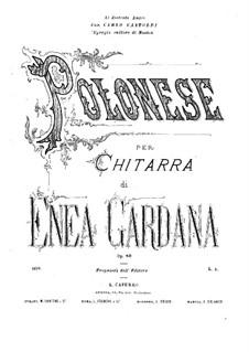 Polonaise in A Major, Op.80: Polonaise in A Major by Enea Gardana