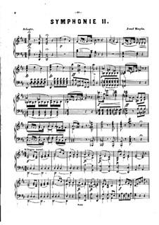 Symphony No.93 in D Major, Hob.I/93: versão para piano by Joseph Haydn
