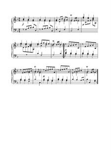 Partie No.4 in F Major: Sarabande by Johann Kuhnau