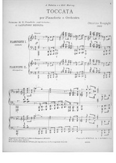 Toccata in D Minor: Toccata in D Minor by Ottorino Respighi