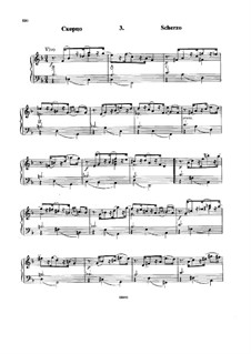 Six Variations on the Theme BACH, Op.10: No.3 Scherzo by Nikolai Rimsky-Korsakov