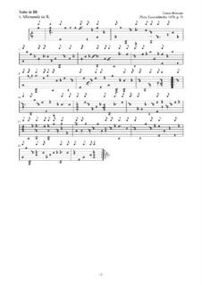 Neue Lautenfrüchte: Suite Nr.5 in Bb by Esaias Reusner