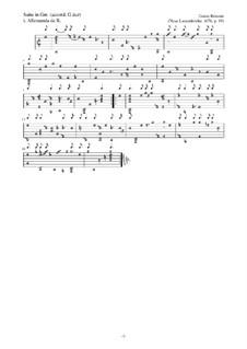Neue Lautenfrüchte: Suite Nr.19 in Gm by Esaias Reusner