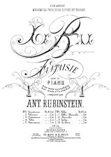 Le Bal. No.1 'Impatience', Op.14: Le Bal. No.1 'Impatience' by Nikolai Grigoryevich Rubinstein
