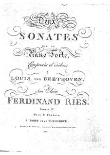 Sonatas for Piano, Op.1: Sonata No.1 by Ludwig van Beethoven