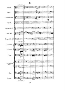 Concerto for Piano and Orchestra No.4 in D Minor, Op.70: movimento II by Anton Rubinstein