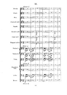 Concerto for Piano and Orchestra No.4 in D Minor, Op.70: movimento III by Anton Rubinstein