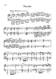 March for Piano: March for Piano by Gioacchino Rossini