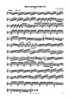 Suite pour le Violon seul, Op.31: Suite pour le Violon seul by Klaus Miehling