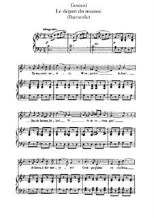 Vocal Works: trabalho de vocais by Charles Gounod