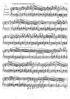 Piano Sonata, Op.27: movimento III by Ignaz Moscheles